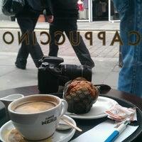 Photo taken at Caffè Nero by Oleg T. on 5/20/2013