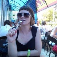 "Photo taken at кафе ""кура гриль"" by Mari M. on 7/16/2013"