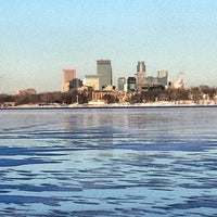 Photo taken at Lake Calhoun by Mike T. on 12/26/2012