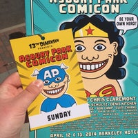 Photo taken at Asbury Park Comic Con by Ed H. on 4/13/2014