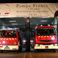 Photo taken at Cuartel 4ta cía bomberos Santiago Pompe France by Pedro S. on 3/27/2014
