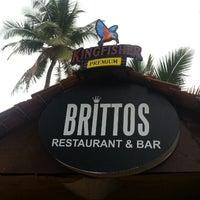 Photo taken at Brittos Bar & Restaurant by Manuj S. on 5/29/2013