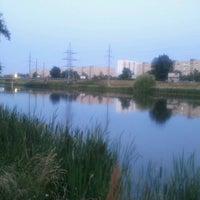 Снимок сделан в Троєщинський канал пользователем Димон R. 6/24/2013