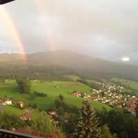 Photo taken at Plasselb by Natalie S. on 8/4/2014