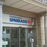 Photo taken at Kärntner Sparkasse by Moise M. on 7/4/2013