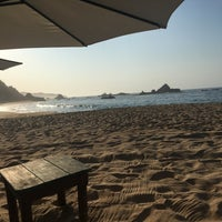 Photo taken at Playa Mazunte by DanIela F. on 4/16/2018