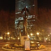 Photo taken at Robert W. Woodruff Park by Matthew P. on 2/3/2013
