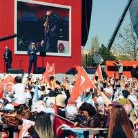 Photo taken at Ankara Eski Hipodrum/AKM by Eren D. on 4/2/2017