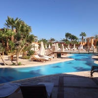 Photo taken at Sheraton Miramar Resort El Gouna by Sinisa Prle on 12/9/2013