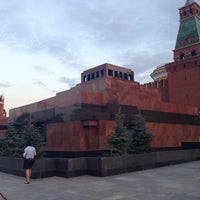 Photo taken at Lenin's Mausoleum by Artemy B. on 7/12/2013