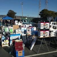 Photo taken at Oakland Coliseum Flea Market by Sally Ann on 2/9/2013