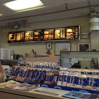 Photo taken at Dino's Subs and Pizza Shop by Sally Ann on 4/24/2014