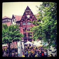 Photo taken at Friedensplatz by David L. on 5/25/2013