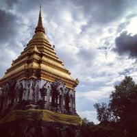 Photo taken at Wat Chiang Man by グルメJ on 6/14/2013