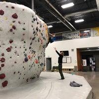 Photo taken at Momentum Indoor Climbing by Matthew D. on 2/23/2018