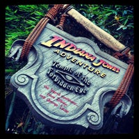 Photo taken at Indiana Jones Adventure by Ryan W. on 11/23/2012