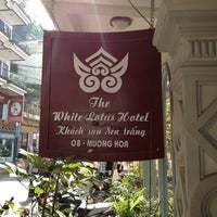 Photo taken at The White Lotus Hotel by Francis P. on 10/18/2012