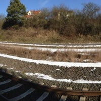 Photo taken at Bahnhof Angersbach by Iak on 5/18/2013