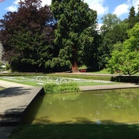 Photo taken at Belvoirpark by Evelina S. on 6/16/2014