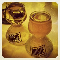 Photo taken at Rogue Kitchen & Wetbar by Danielle L. on 9/30/2012