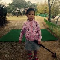 Photo taken at 서남물재생센터 파크골프장 by Gerald W. on 4/18/2015