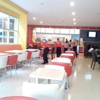 Photo taken at Richeese Factory by Anton A. on 2/17/2013