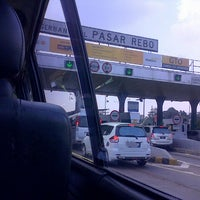 Photo taken at Gerbang Tol Pasar Rebo by bima b. on 5/5/2013