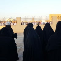Photo taken at مصلى العيد بالبكيريه by Ragad a. on 8/8/2013