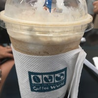 Photo taken at Coffee World by mod y. on 7/28/2017