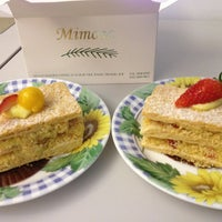 Photo taken at Mimosa Patisserie by Jasnow on 3/13/2013