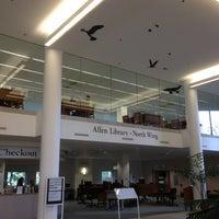 Photo taken at UW: Allen Library by David C. on 3/28/2013