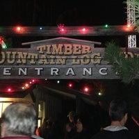Photo taken at Timber Mountain Log Ride by Miles C. on 1/5/2013