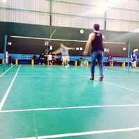 Photo taken at Grand Futsal Kuningan by Dionisius P. on 6/4/2013