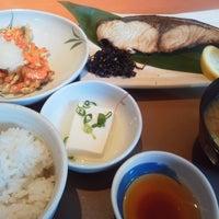 Photo taken at ごはん処 やよい軒 菊川店 by エーカー グ. on 3/6/2014