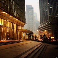 Photo taken at One Raffles Quay by P F. on 6/19/2013