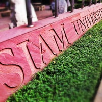 Photo taken at Siam University by Siwabhorn A. on 1/7/2013