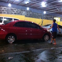 Photo taken at Danny's Carwash by benjo s. on 3/6/2013