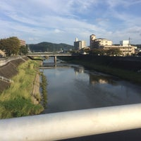 Photo taken at 相生橋 by 南北 東. on 10/9/2016