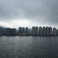 Photo taken at Ma Liu Shui Ferry Pier by Brenda T. on 12/23/2015