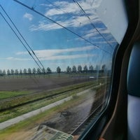 Photo taken at Intercity Schiphol - Den Haag Centraal by dorgold on 5/22/2014