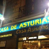 Foto tomada en Casa de Asturias por Samuel H. el 10/11/2012