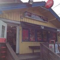Photo taken at Abildsø Grill & Pizza by Lars Egil S. on 8/5/2013