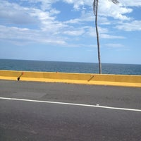Photo taken at Avenida Las Americas by Luci D. on 7/13/2013