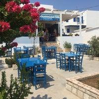 Photo taken at Σωτήρης by Eylem A. on 8/9/2016