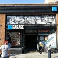 Photo taken at Garage Skateshop by Andrew G. on 12/21/2013