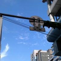 Photo taken at 信義復興路口 by Birgit L. on 11/16/2012