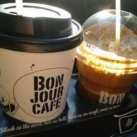 Photo taken at Bonjour Cafe by Panagiwtis I. on 12/4/2013
