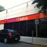 Photo taken at Banco Galicia by Ezequiel P. on 1/4/2013