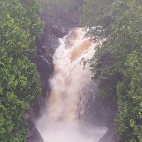 Photo taken at Cascade waterfalls by Wade N. on 6/22/2013