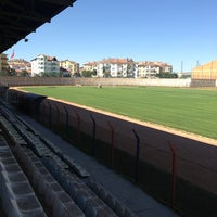 Photo taken at Niğde 5 Şubat Stadyumu by Burak A. on 7/24/2013